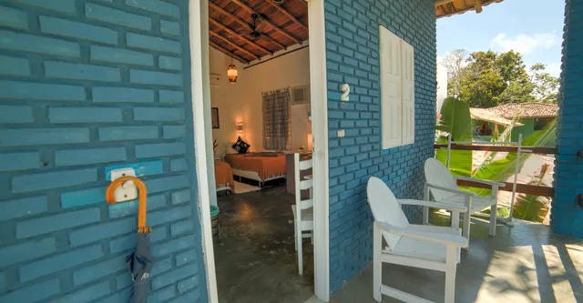 Apartamento Triplo Pousada Raiz do Brasil
